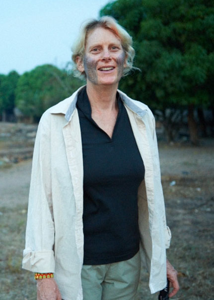 Barbara Zimmerman, director of the Kayapo Project for the International Conservation Fund of Canada and the U.S.-based Environmental Defense Fund.